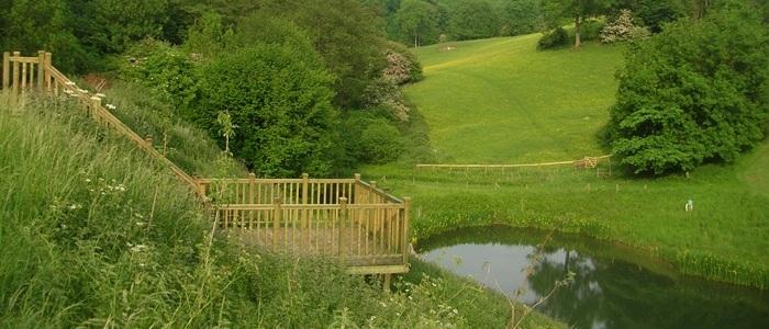 Brook Farm - Lakeside Cottage decking