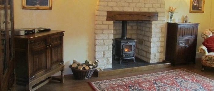 Lakeside Cottage sitting room